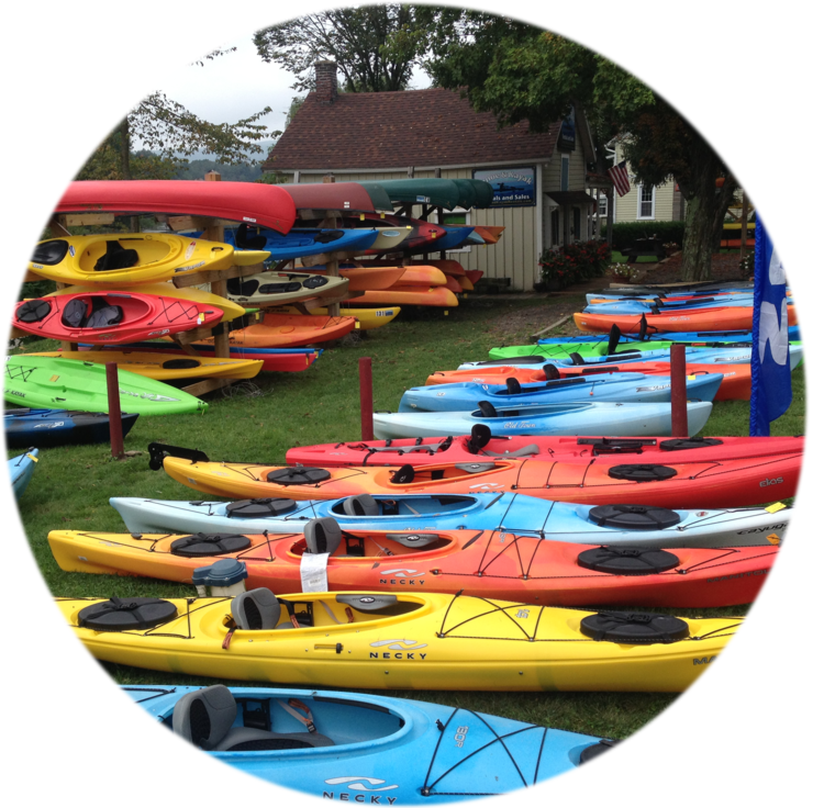 Canoe Kayak Rentals And Sales