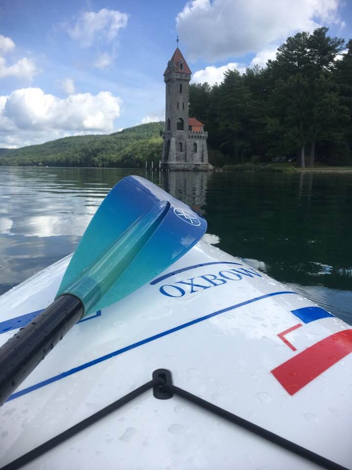 Paddle Board on Otsego Lake by King Fisher Tower.