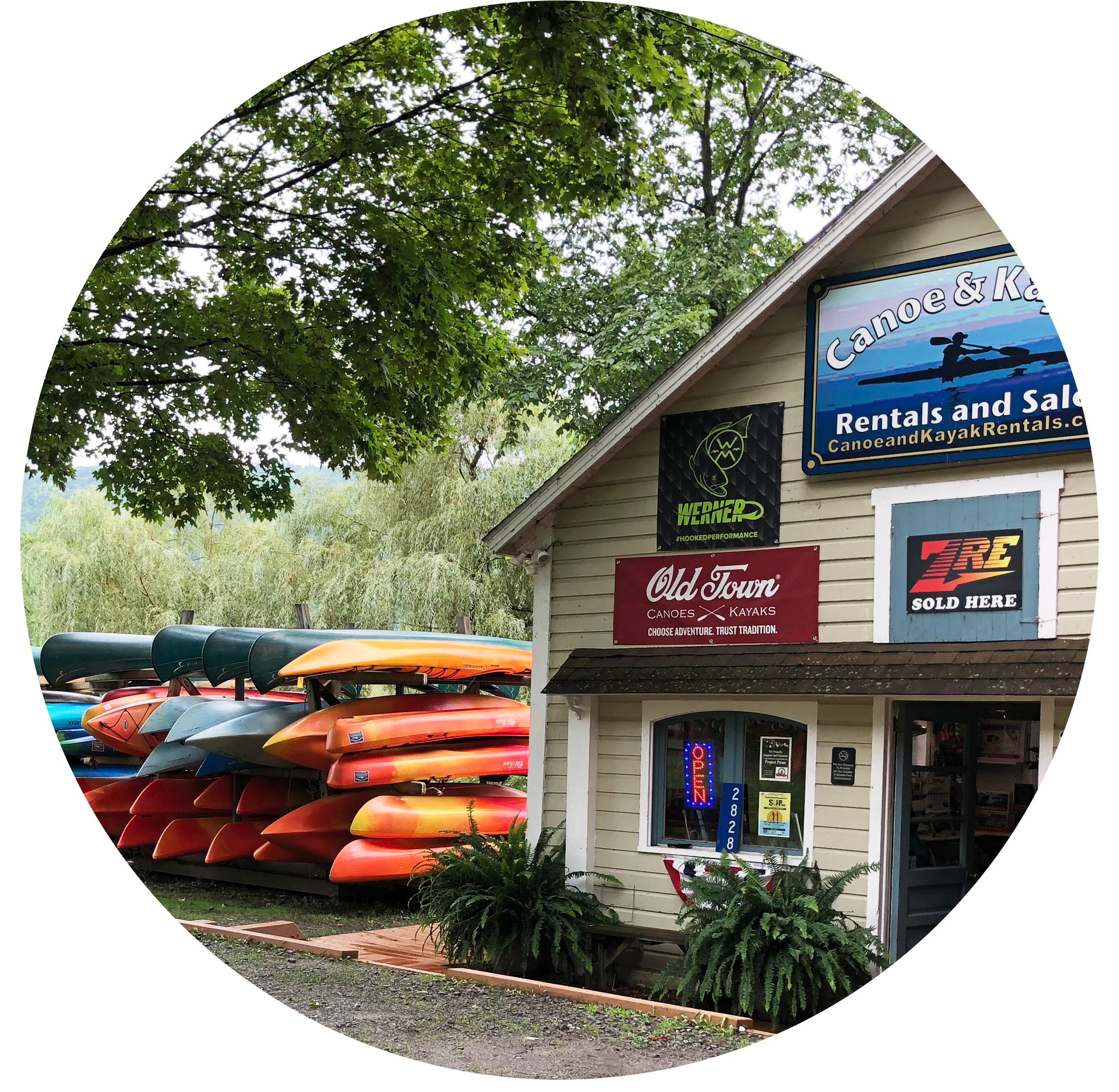 Portlandville Shop front