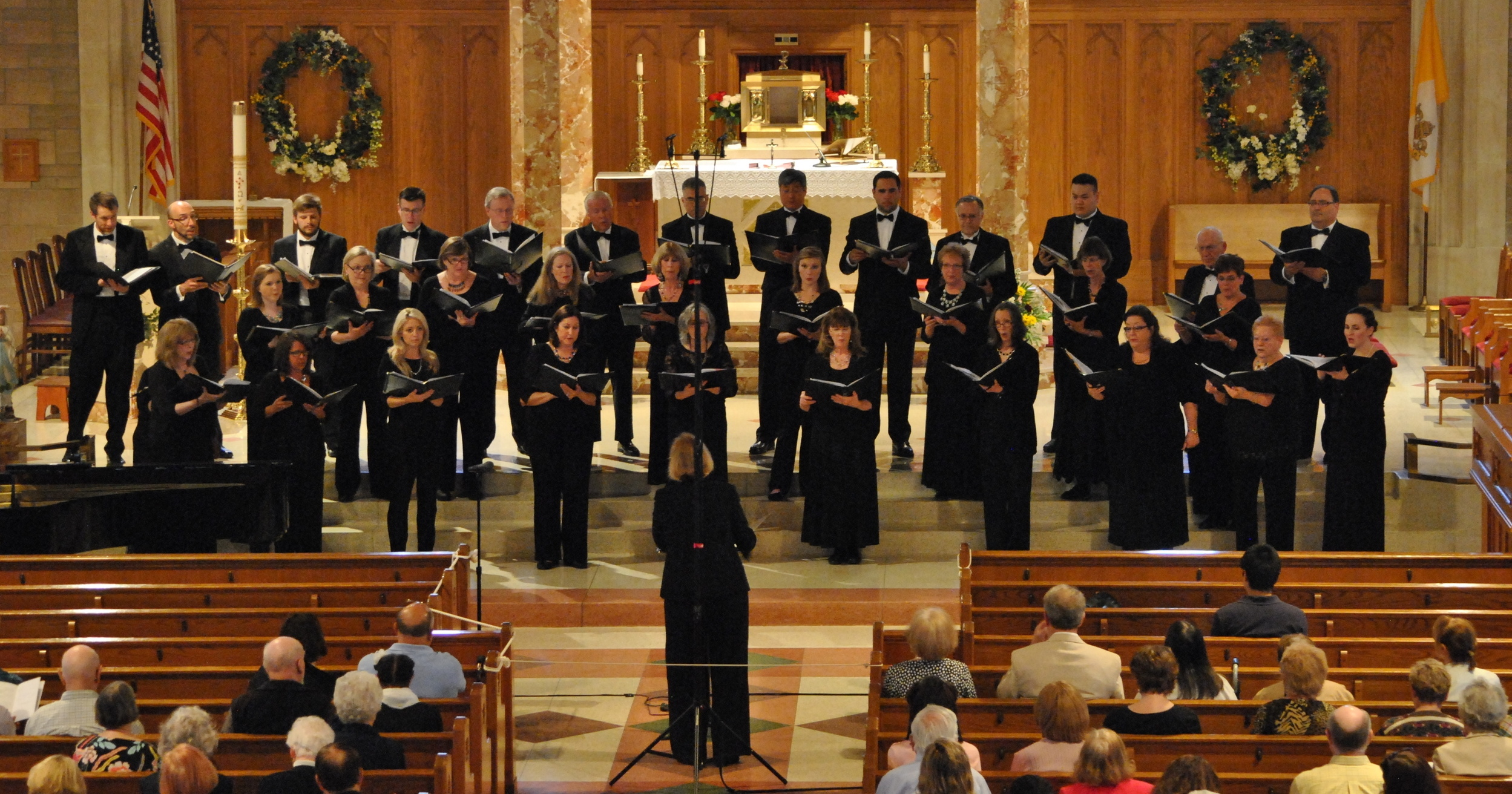 Psalms, Songs, and Spirituals Sunday, 3rd ofMay 2015 at St. Theresa's Church, Trumbull, CT