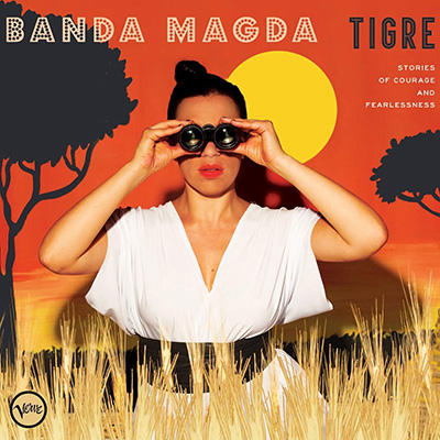 Banda Magda - Tigre   James plays percussion, glockenspiel, and occasional tubular bells in Banda Magda, with whom he has toured extensively since 2013. He was instrumental in arranging the percussion on  Thiamandi