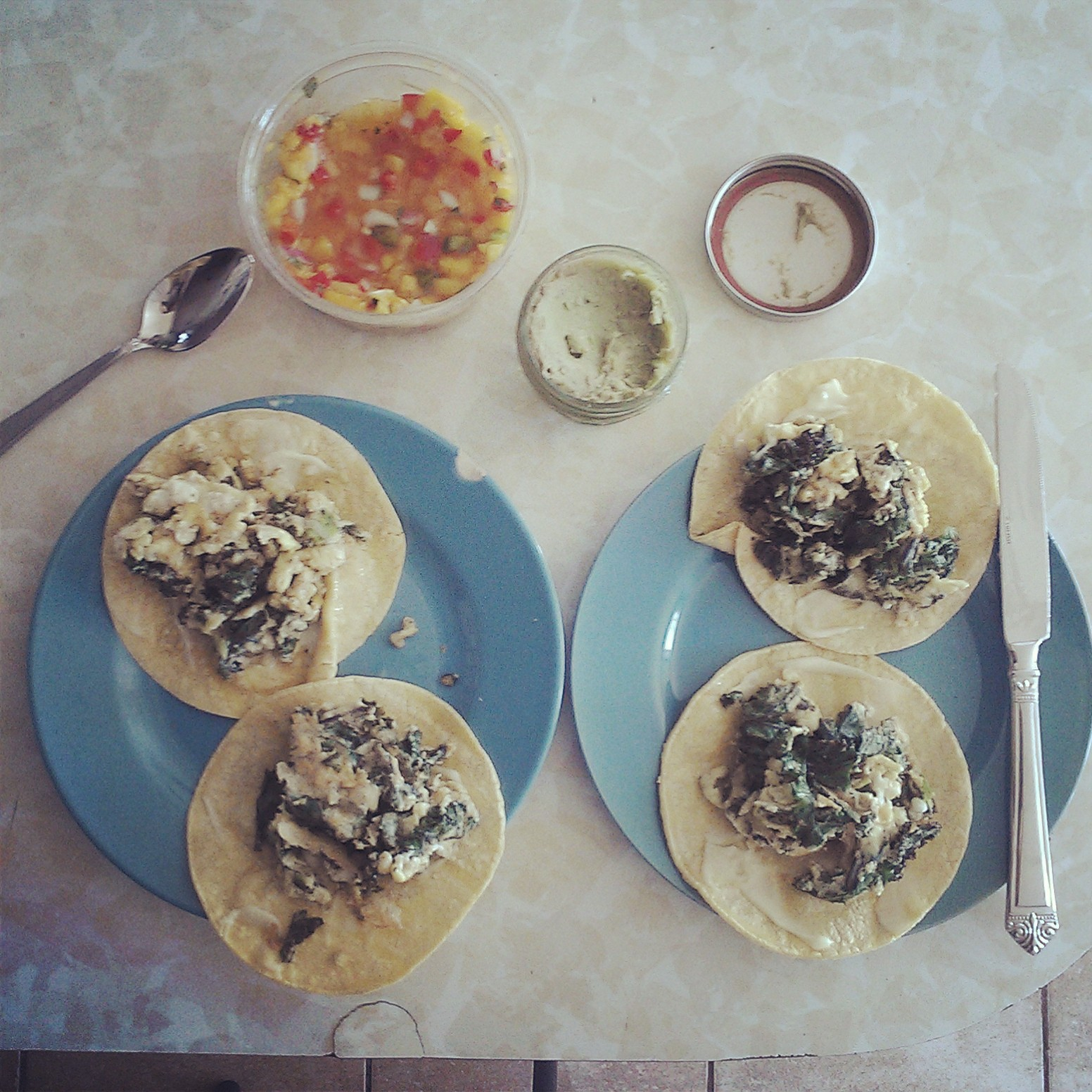 Breakfast Tacos for Two