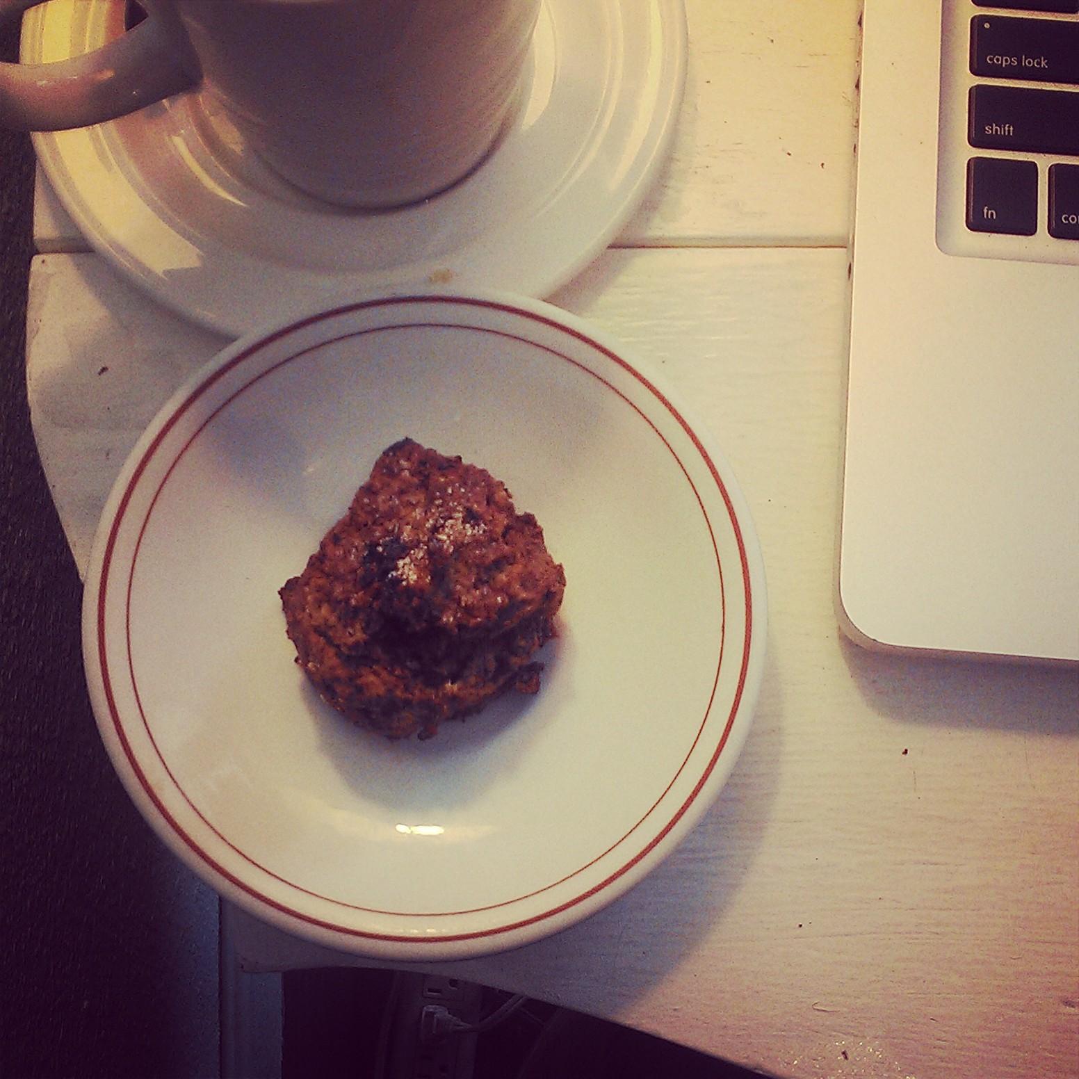 Gluten free and vegan pumpkin scone