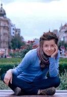 Taking a break in Prague