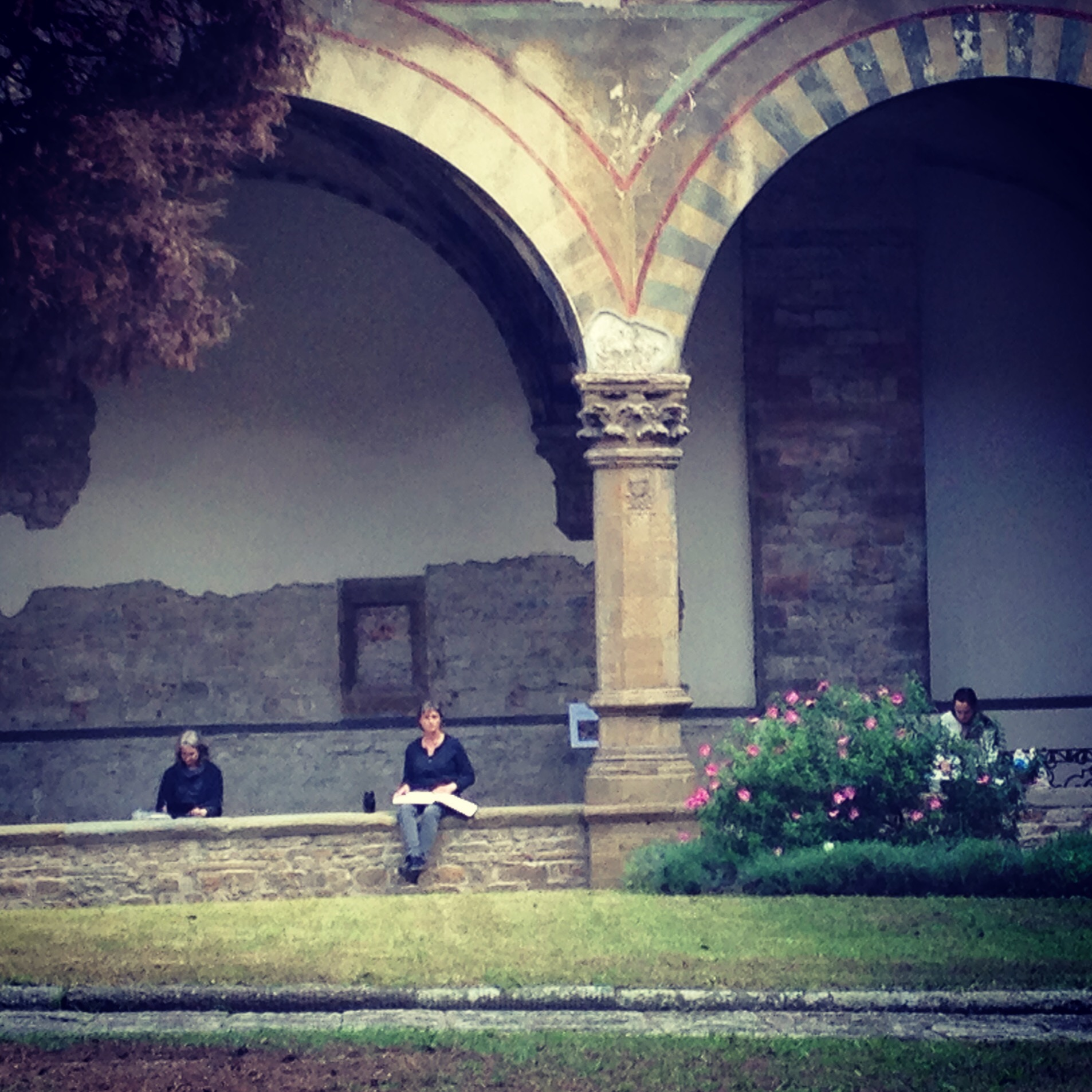 The Cloisters of Santa Maria Novella