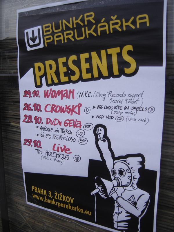 WOMAN NYC SECRET BEAT 9 BUNKR PARUKARKA PRAGUE CZECH REPUBLIC