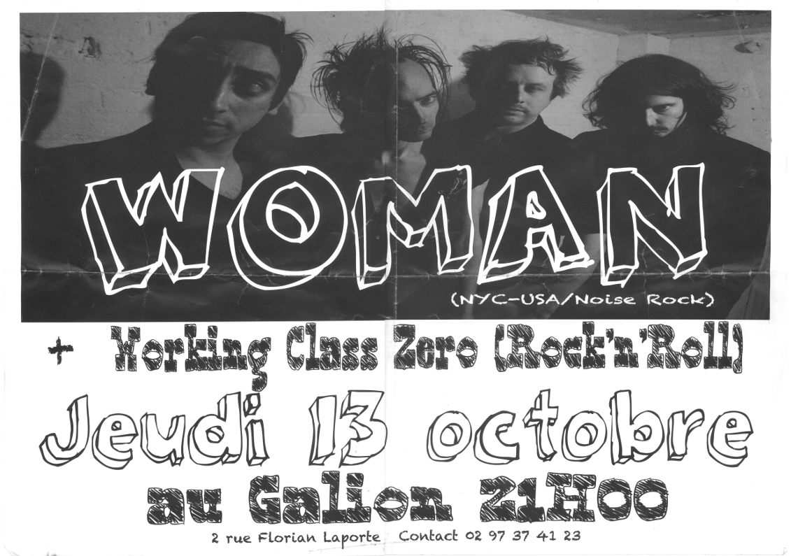 LE GALION LORIENT FRANCE WOMAN NYC WORKING CLASS ZERO