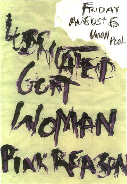 WOMAN NYC LUBRICATED GOAT PINK REASON UNION POOL BROOKLYN
