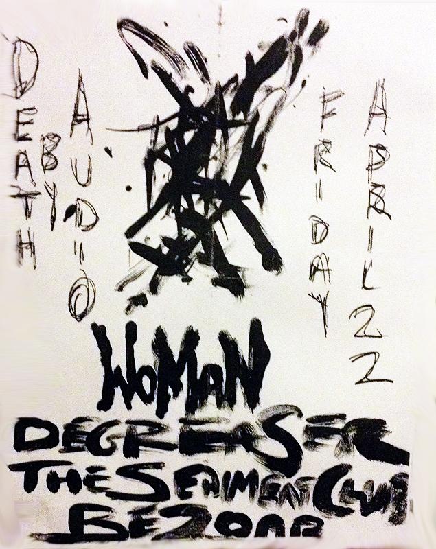 WOMAN NYC DEGREASER BEZOAR THE SEDIMENT CLUB DEATH BY AUDIO BROOKLYN]