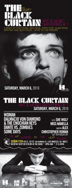 WOMAN / Dante Vs. Zombies Some Days / Enochian Keys / DJ She Wolf  SENOR FISH Los Angeles, CA