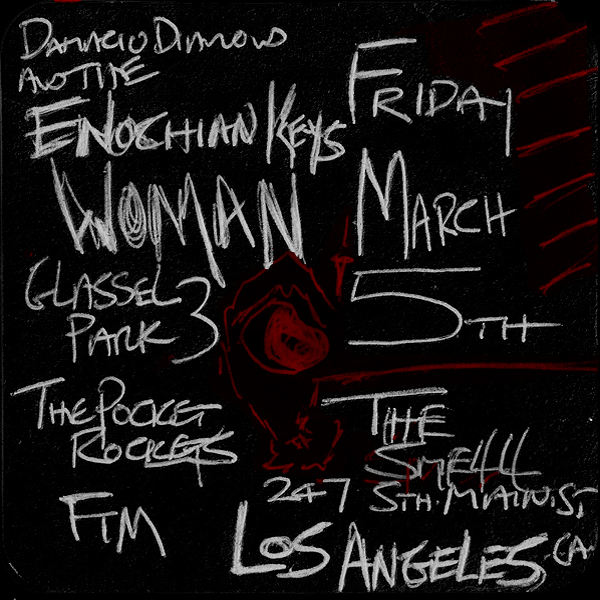 WOMAN Glassel Park 3 Dalmacio Von Diamond  THE SMELL Los Angeles, CA