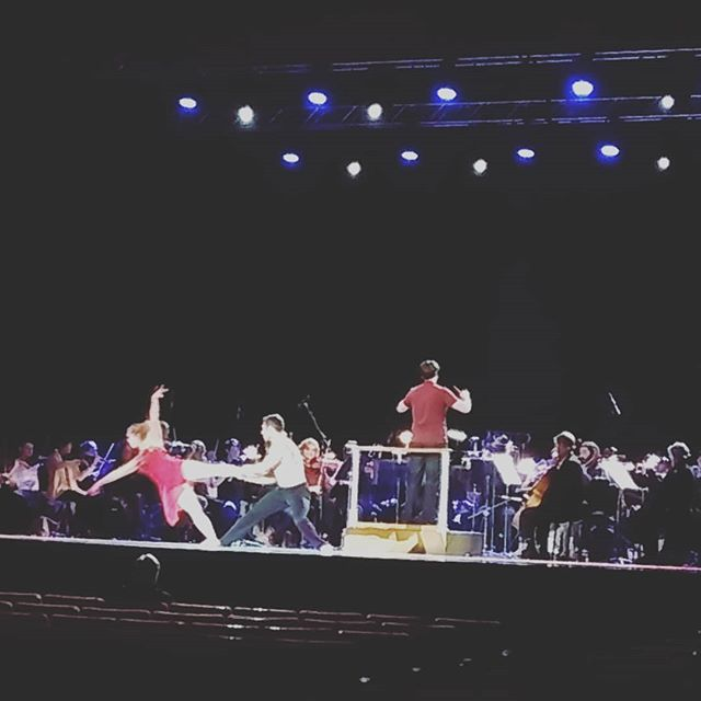 MusicWorks students were invited to the rehearsal for the cirque musiqa with the @avlsymphony. We love our community partnerships! Thank you so much, it was so inspiring! #cirquemusica #ashevillesymphony #elsistemainspired