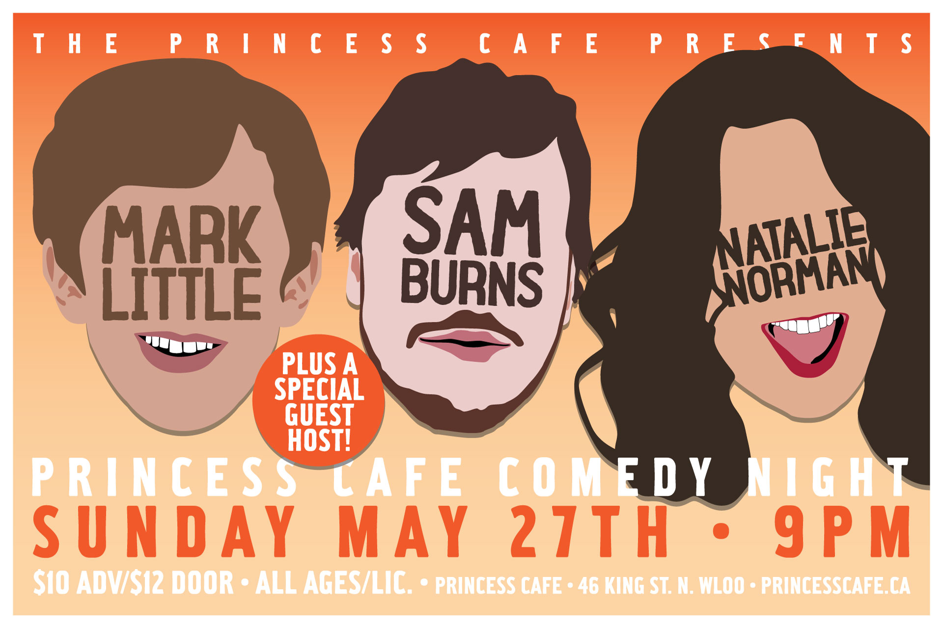 CafeComedy-MarkLittle-SamBurns-NatalieWorkman