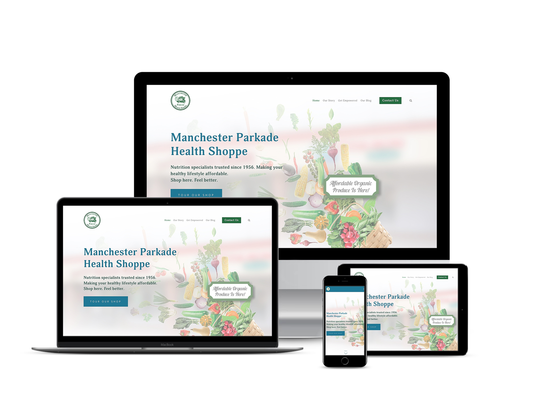 Website, Photography, Marketing