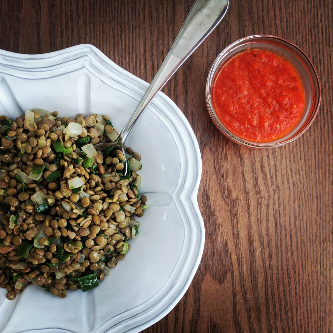 Lentils with Herbs