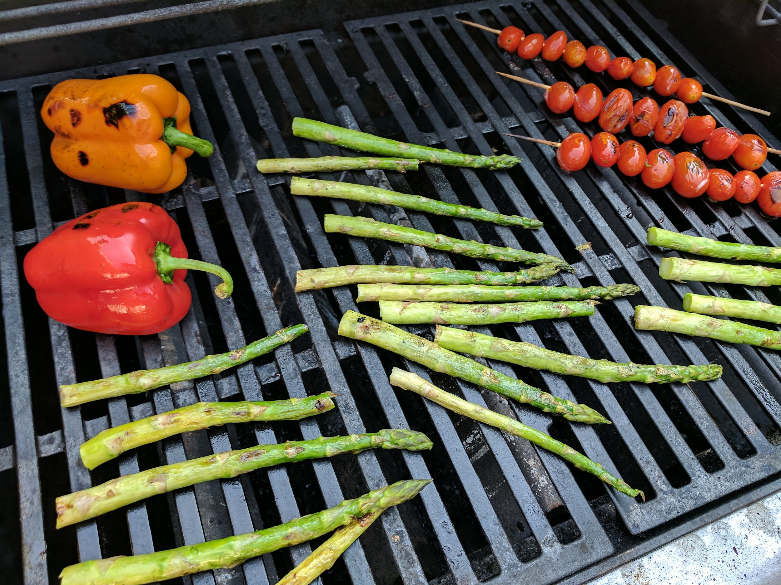Place almost any vegetable over medium heat on the grill and prepare to be amazed by the flavor.