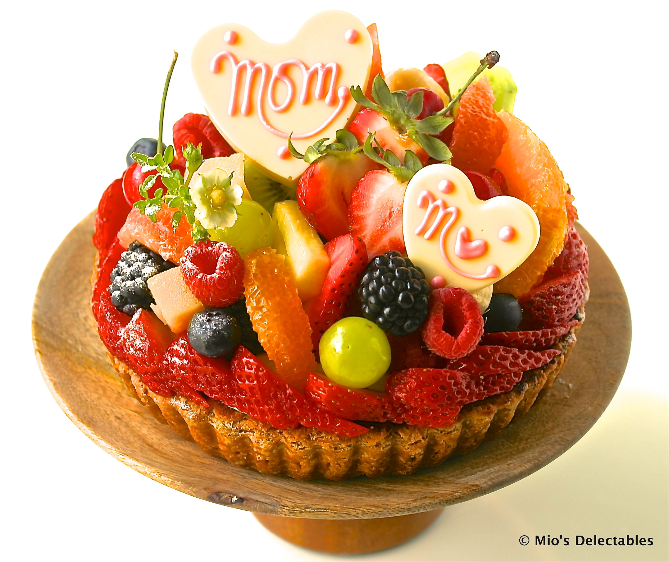 "6"" Mother's Day Special Fresh Fruit Tart $32.00"