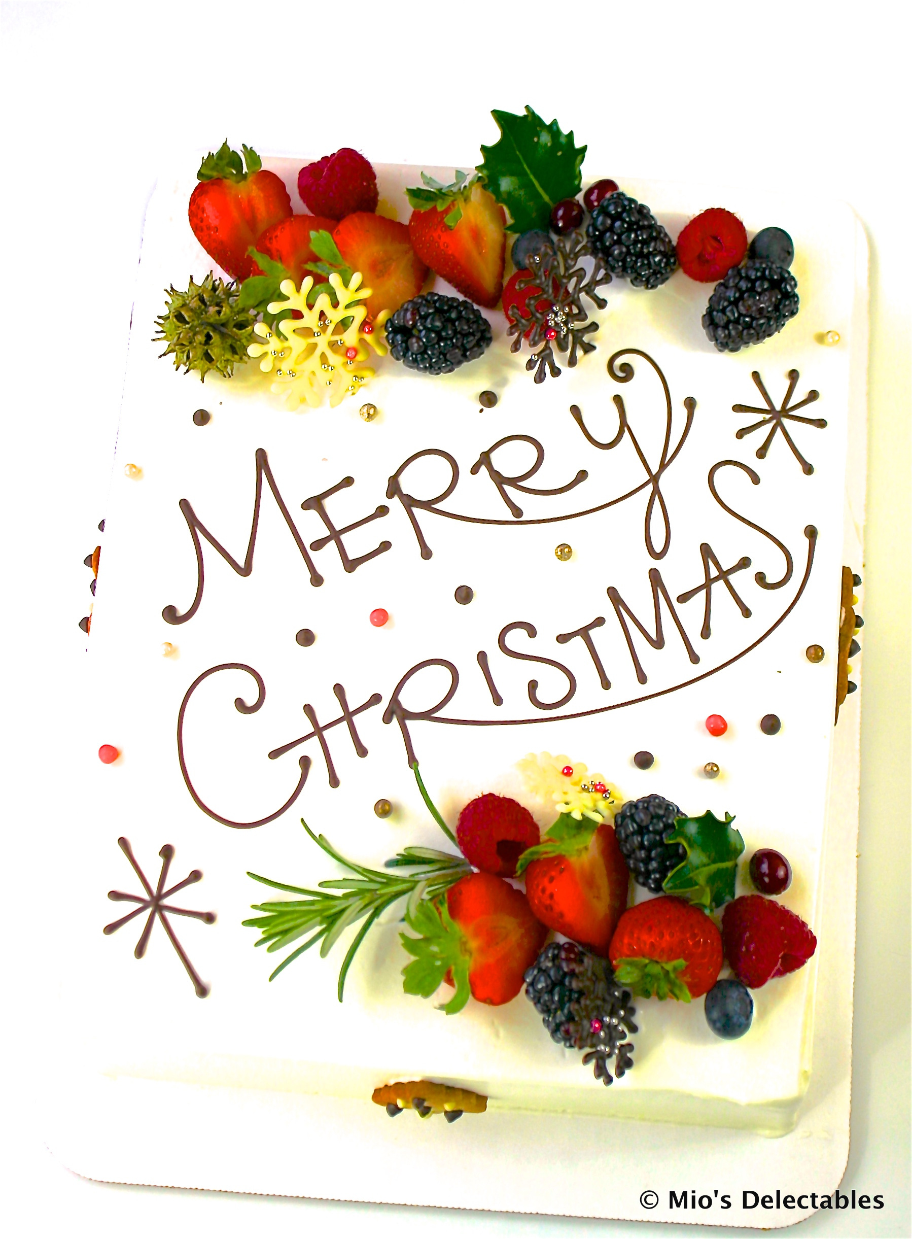"""SOLD OUT  *MIO'S DELECTABLES JAPANESE STYLE CHRISTMAS SHORTCAKE *1/8 Sheet Strawberry Short Cake (9"""" x 6"""") (23cm x 15cm) Vanilla $50 *1/4 Sheet Strawberry Short Cake (9"""" x 12"""") (23cmx 30cm) Vanilla $90  https://www.miosdelectables.com/christmas-cake-preorder/mios-delectables-japanese-style-christmas-cake"""