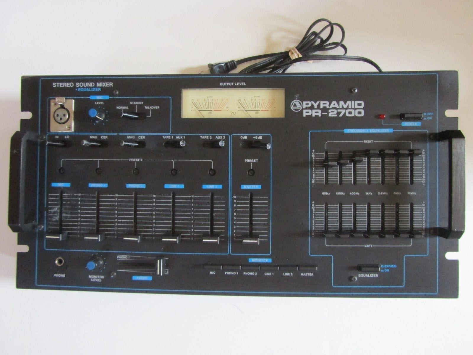 Pyramid PR-2700. My High School Mixer