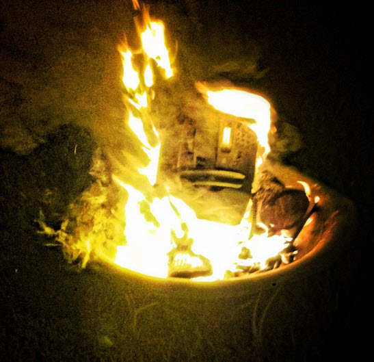 The original Burning Fax.