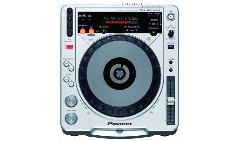 The Pioneer CDJ-800mk2. These were my first commitment into going digital.