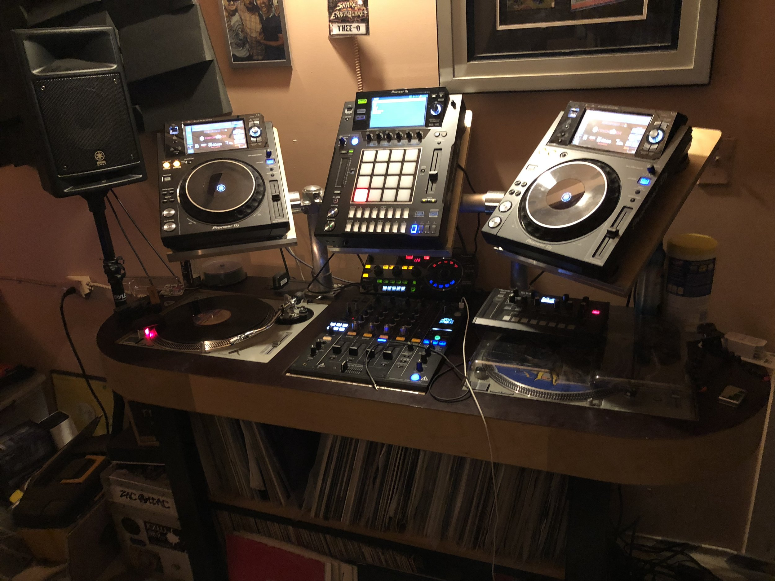 My Studio DJ Rig, AKA The Beast!