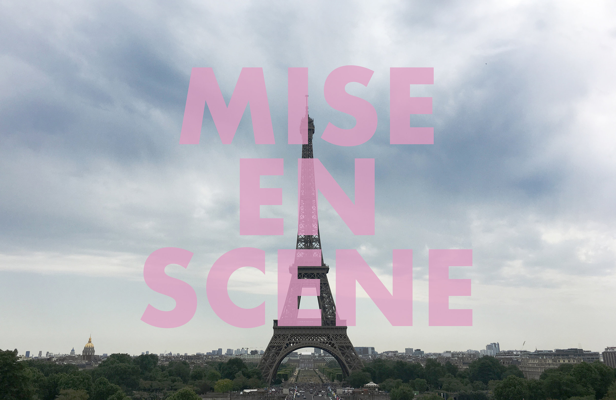 MISEENSCENE , 2018  Paris, France