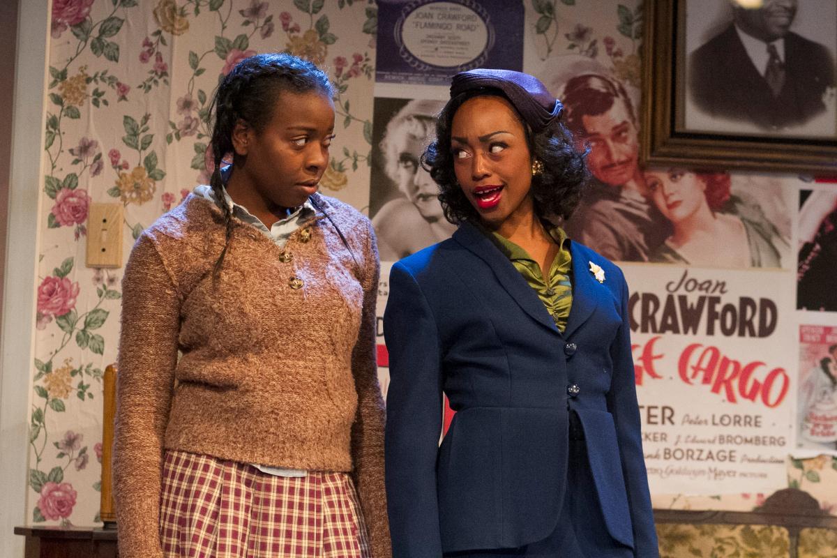 Deja Singer as Ermina and Cashae Monya as Lily - photo by Daren Scott