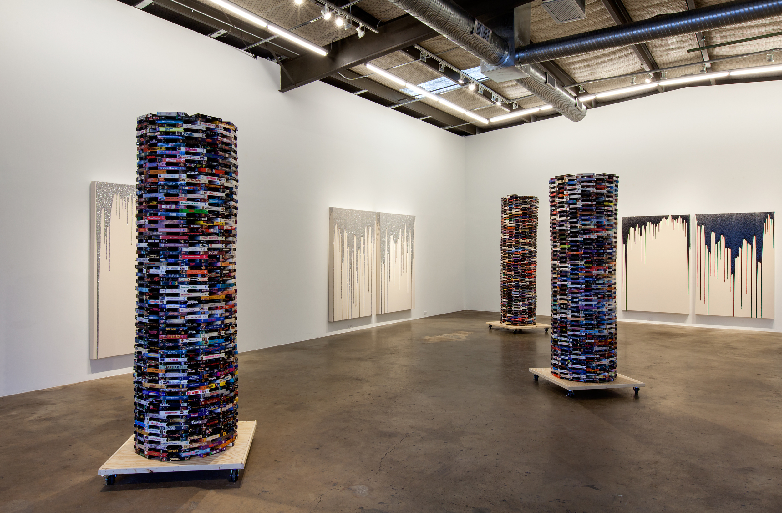 CHIVAS CLEM, Desperate to Appear Sophisticated and Other Titles, Installation view April 2015.