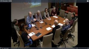 Climate Change Roundtable Discussion