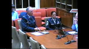 Installation Commander Col. Michael Vogel, 10-22-15