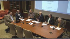 Presentations By MITRE (Douglas Robbins) and MIT Lincoln Lab (Israel Soibelman), 02-23-17