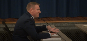 Colonel Chad Ellsworth, Commander, 66th Air Base Group, Hanscom Air Force Base