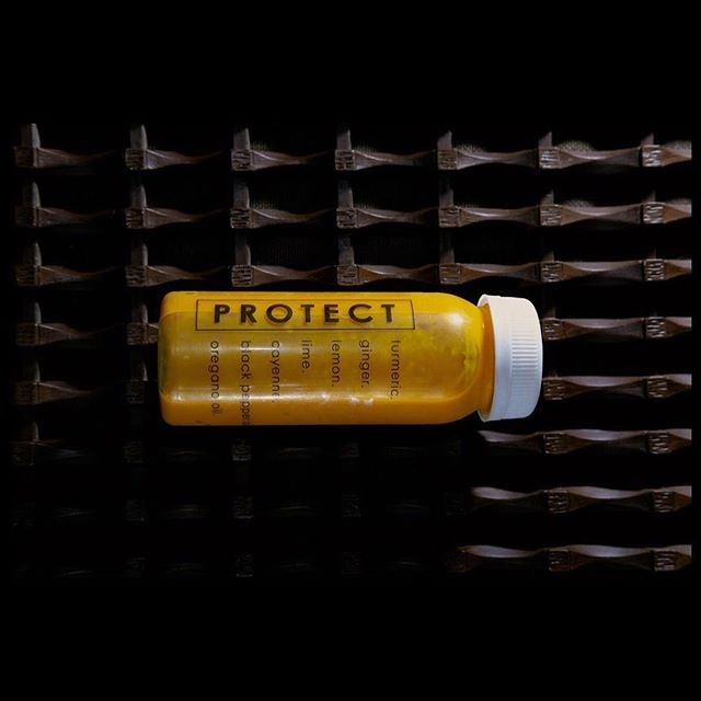 Protect | 4oz shot now @lakeroadmarket ... a potent protectant from an overload of environmental stress and toxins 😝 #protect @lk_lt_photo 💥📸