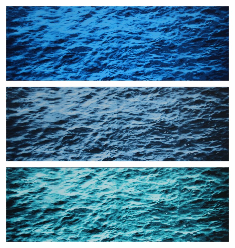 Water Study 3 in 3 Variations