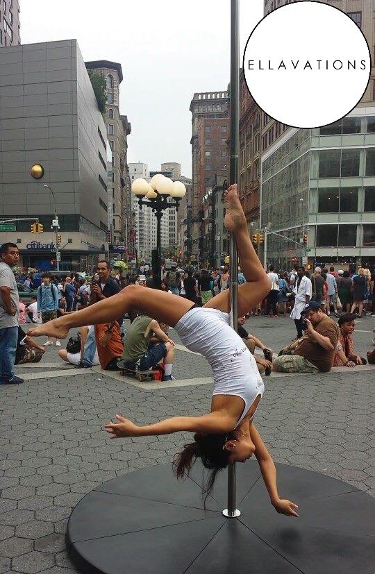 Jessica Janette Silva NYC Union Square Aerial Pole 1.jpg