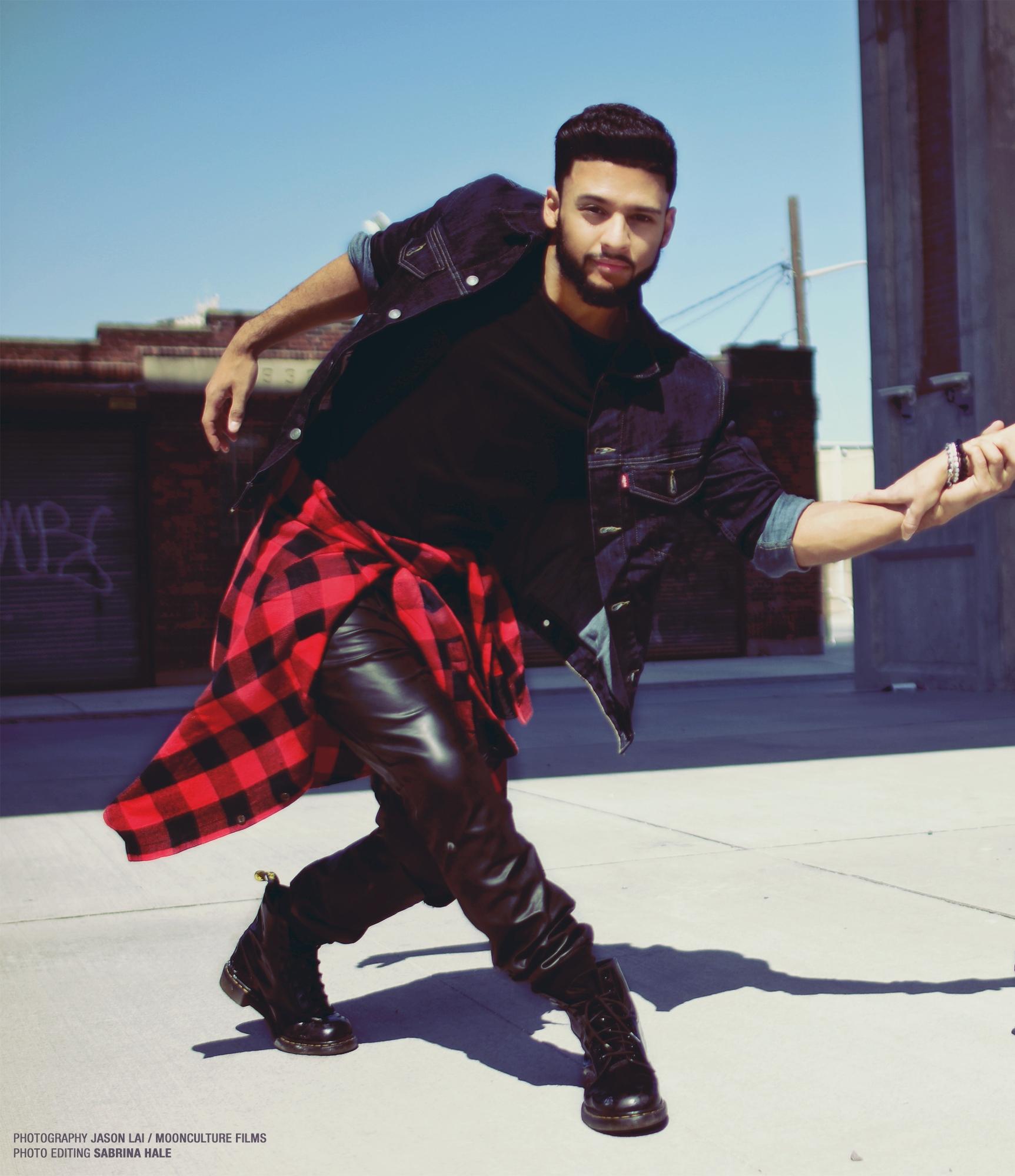 Charles Espinoza Dancer NYC Choreographer ELLAVATIONS
