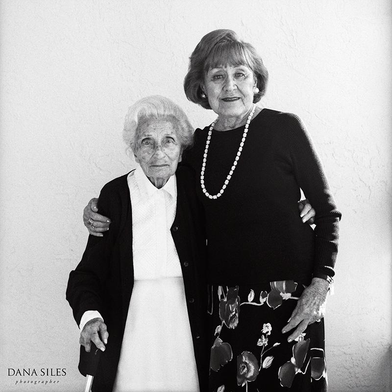 Aunt Freda and Grandma Rose