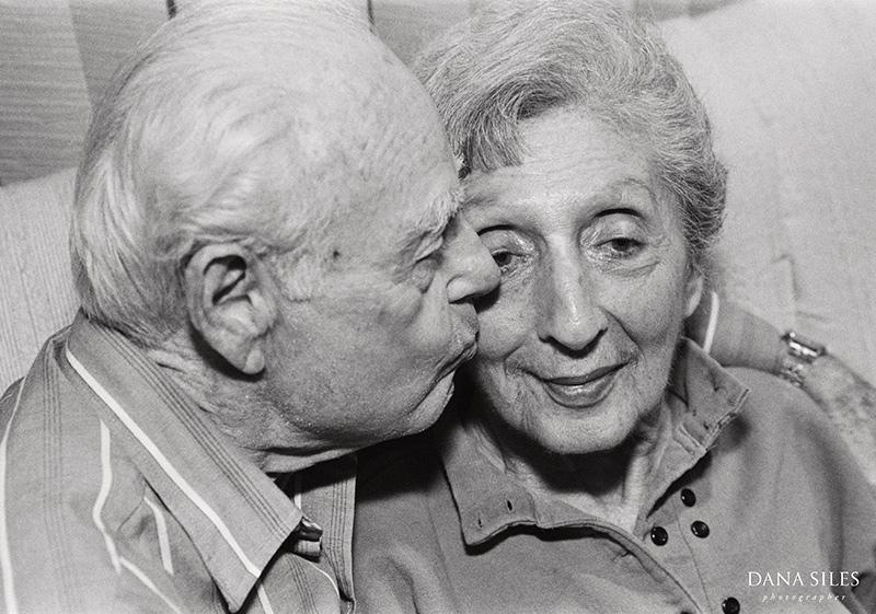 Grandma Sylvia and Grandpa Lou