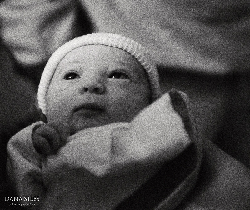 Newborn niece Sabrina Marcella, 01.10.01