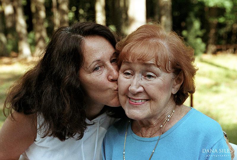 Mom and grandma Rose