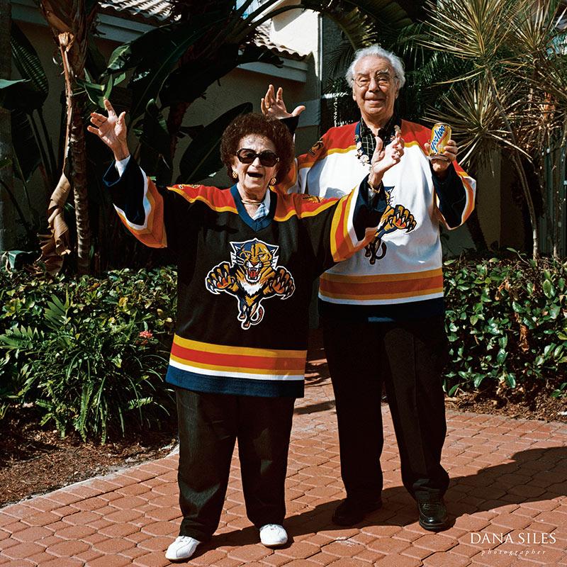 Aunt Estelle and Uncle Bernie