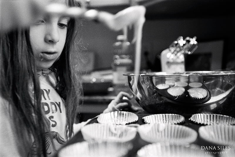 Baking with Sabrina I