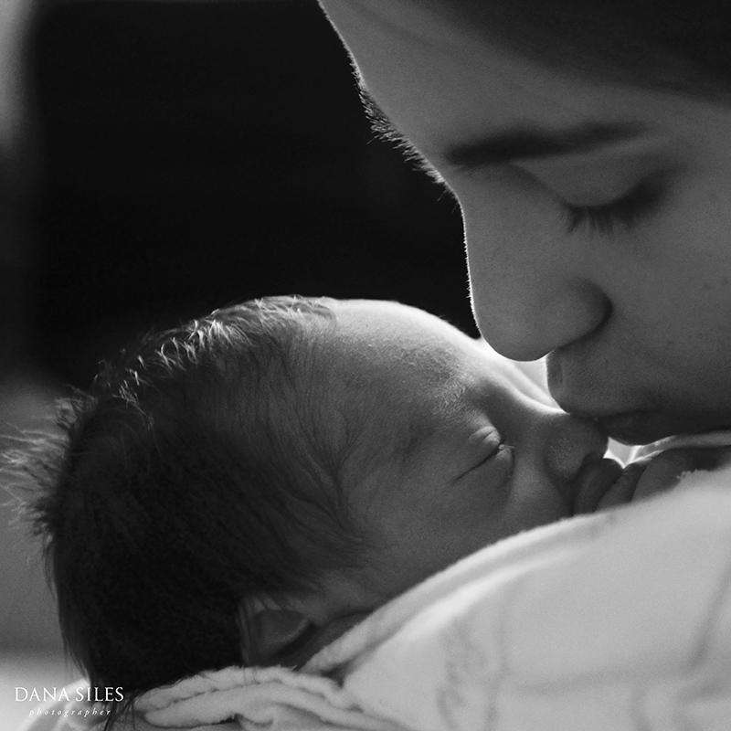 Big sister Sabrina loves baby Noah