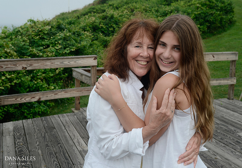Mom and Sabrina