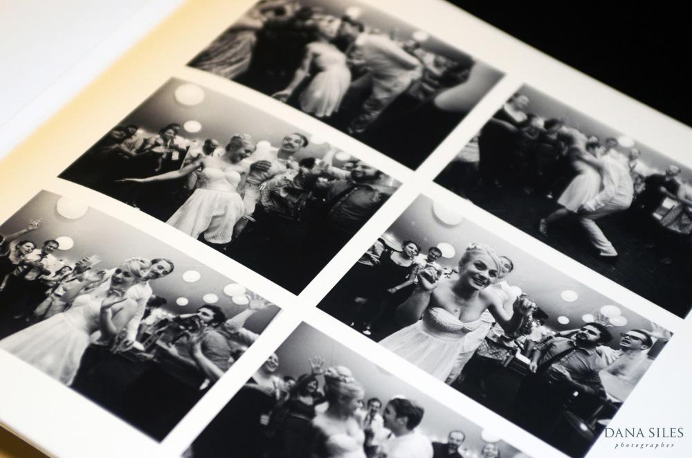 iolabs  print collage on Rag album page
