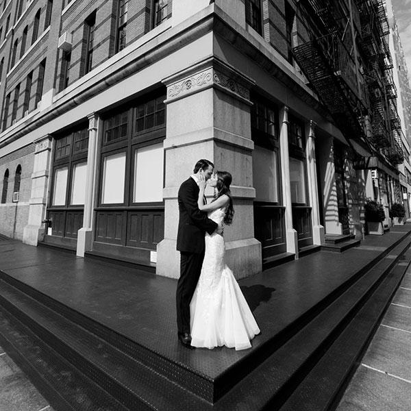 Brittany & Adam Tribeca Rooftop New York City