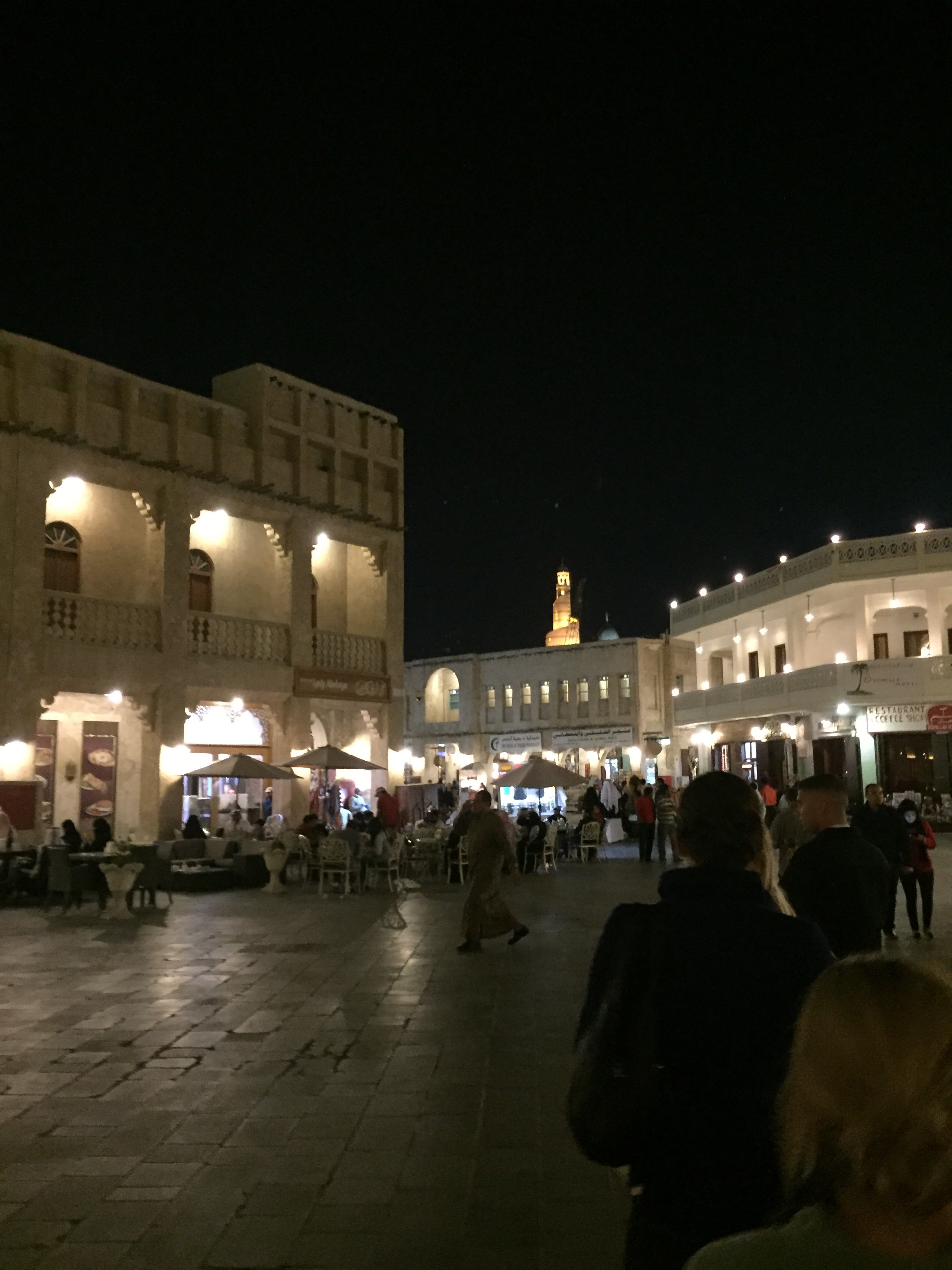 The Souq market area
