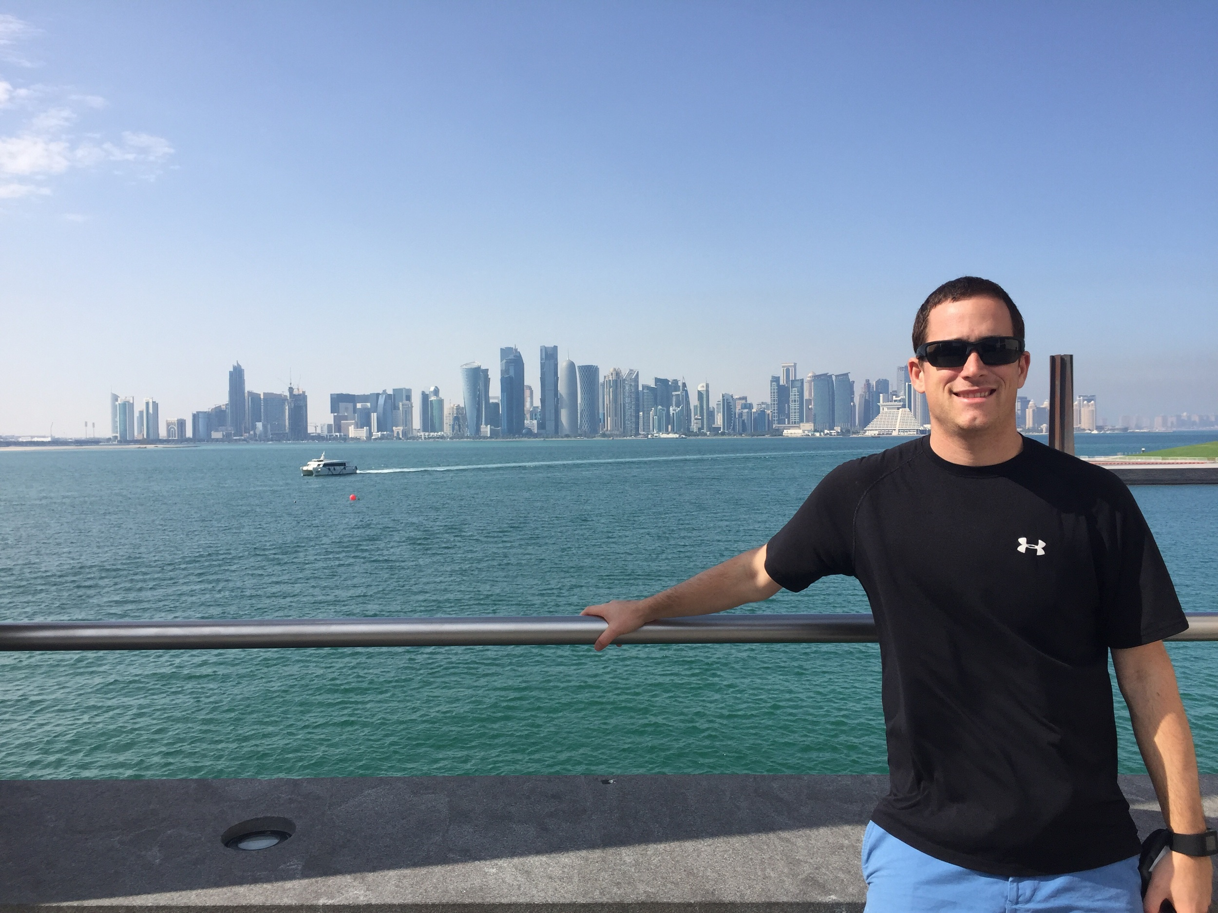 The beautiful Doha Skyline