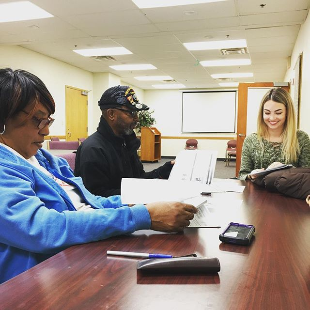 We began our nutrition & physical activity class today with Michigan State University Extension program! Join us every Tuesday from 10am-11am at Samaritan Center #healthpark for this free class. #healthydetroit #community #nutrition #exercise